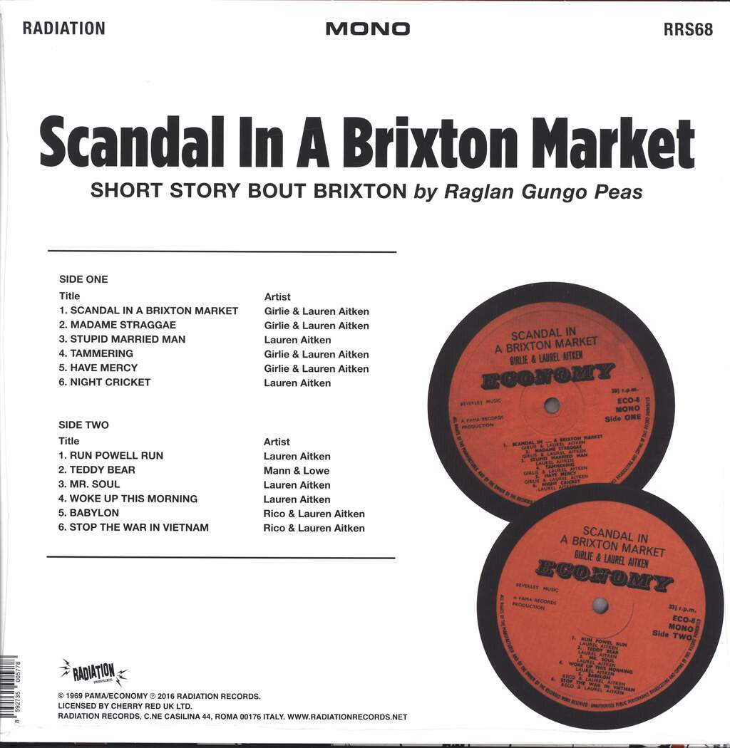 Girlie: Scandal In A Brixton Market, LP (Vinyl)