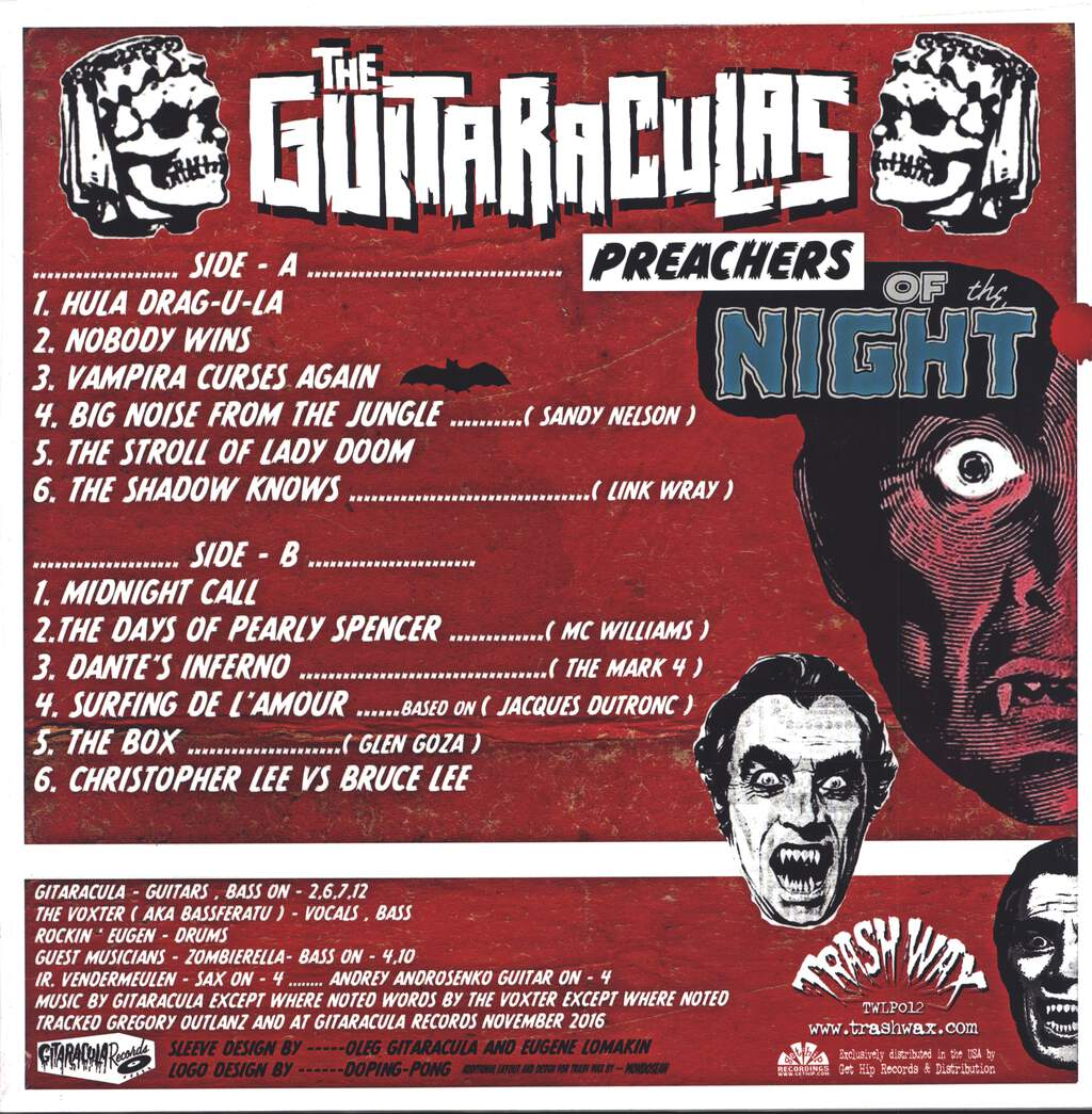 The Guitaraculas: Preachers Of The Night, LP (Vinyl)