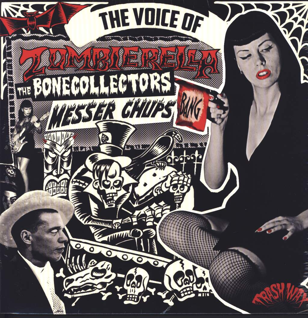 Messer Chups: The Voice Of Zombierella, LP (Vinyl)