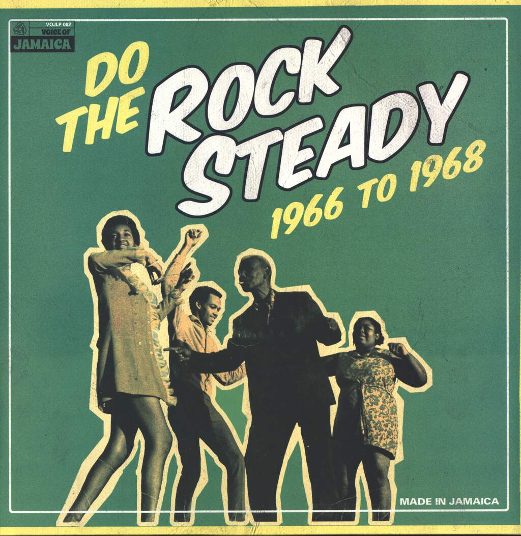 Various: Do The Rock Steady 1966 To 1968, LP (Vinyl)