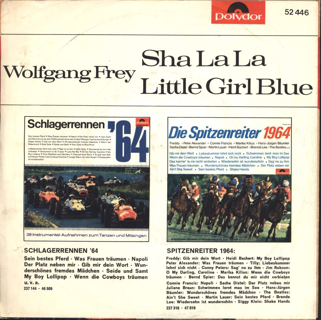"Wolfgang Frey: ShaLaLa / Little Girl Blue, 7"" Single (Vinyl)"