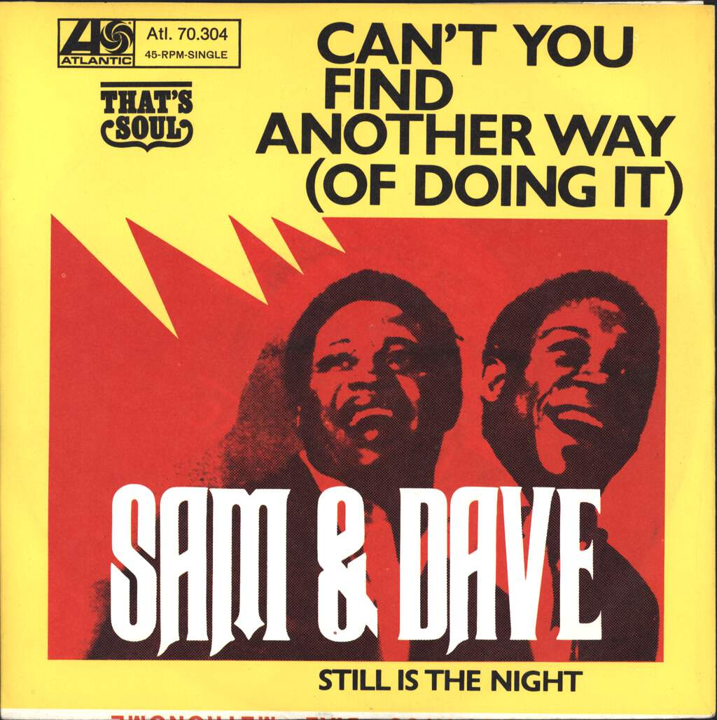 "Sam & Dave: Can't You Find Another Way (Of Doing It), 7"" Single (Vinyl)"