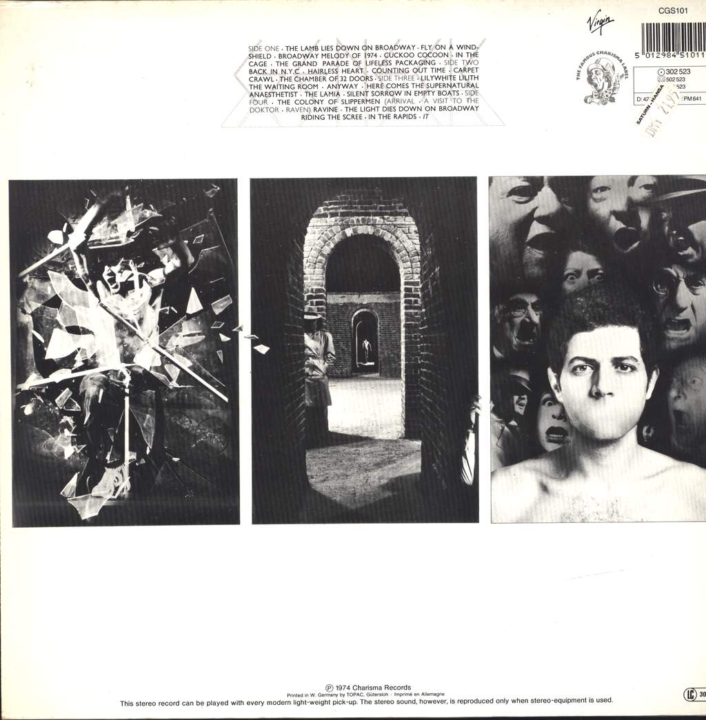 Genesis: The Lamb Lies Down On Broadway, LP (Vinyl)