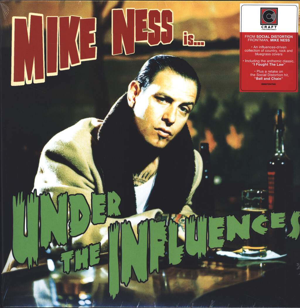 Mike Ness: Under The Influences, LP (Vinyl)