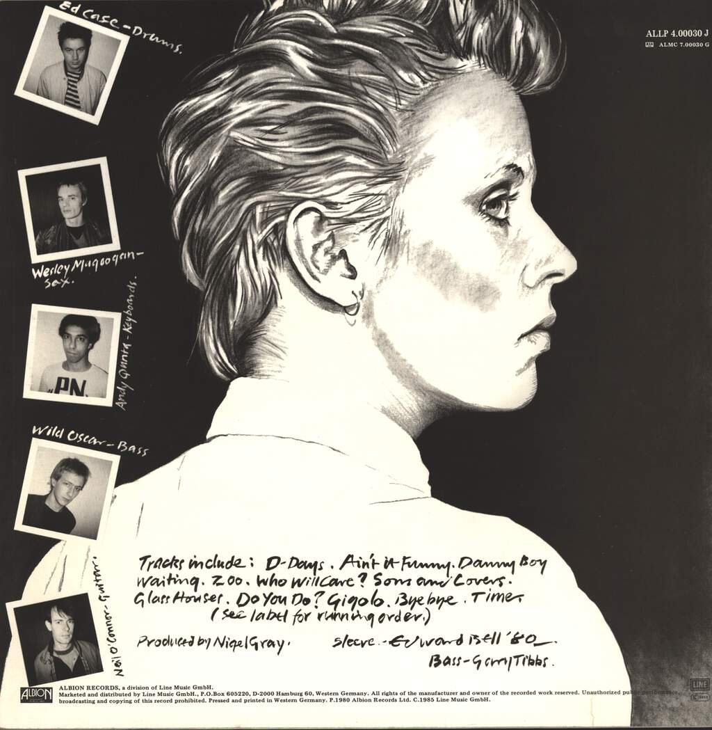 Hazel O'Connor: Sons And Lovers, LP (Vinyl)