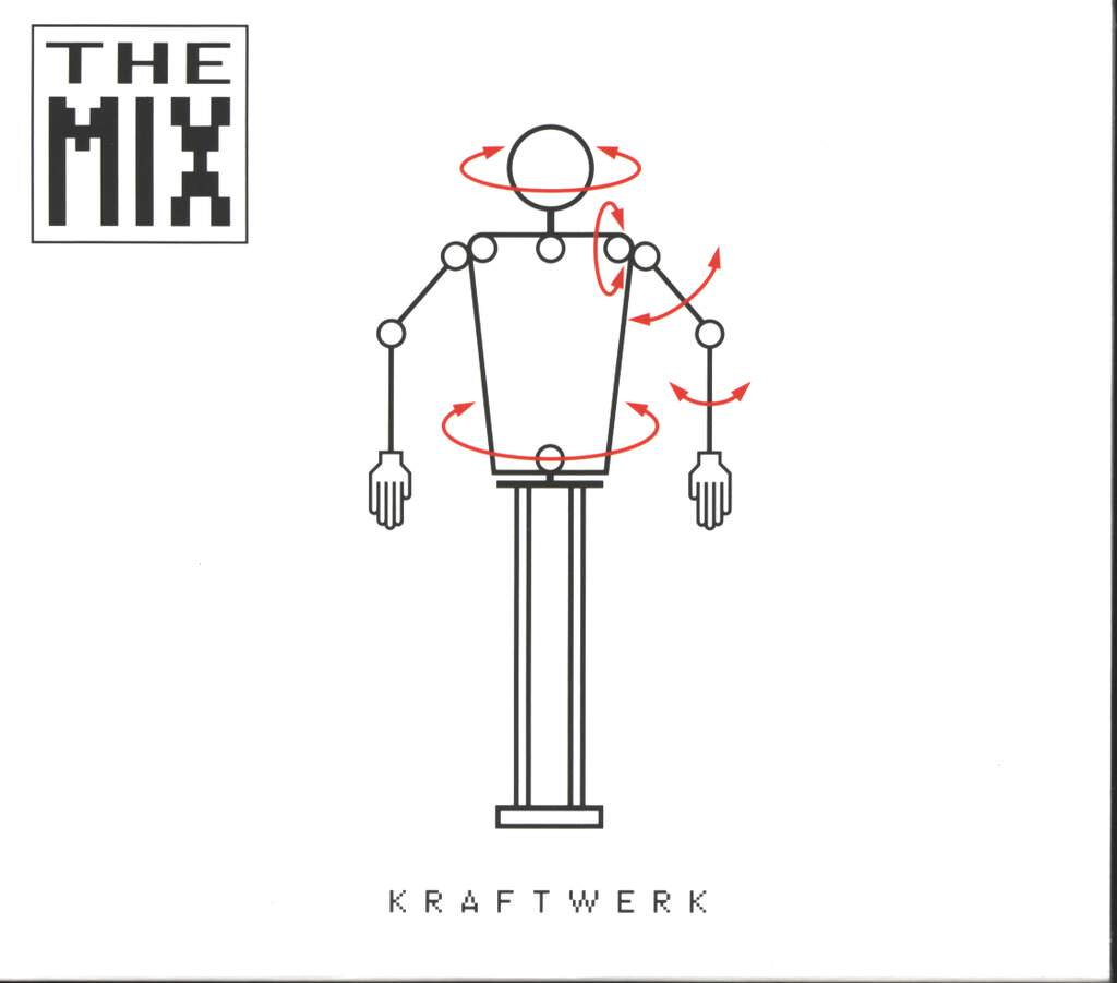 Kraftwerk: The Mix, CD