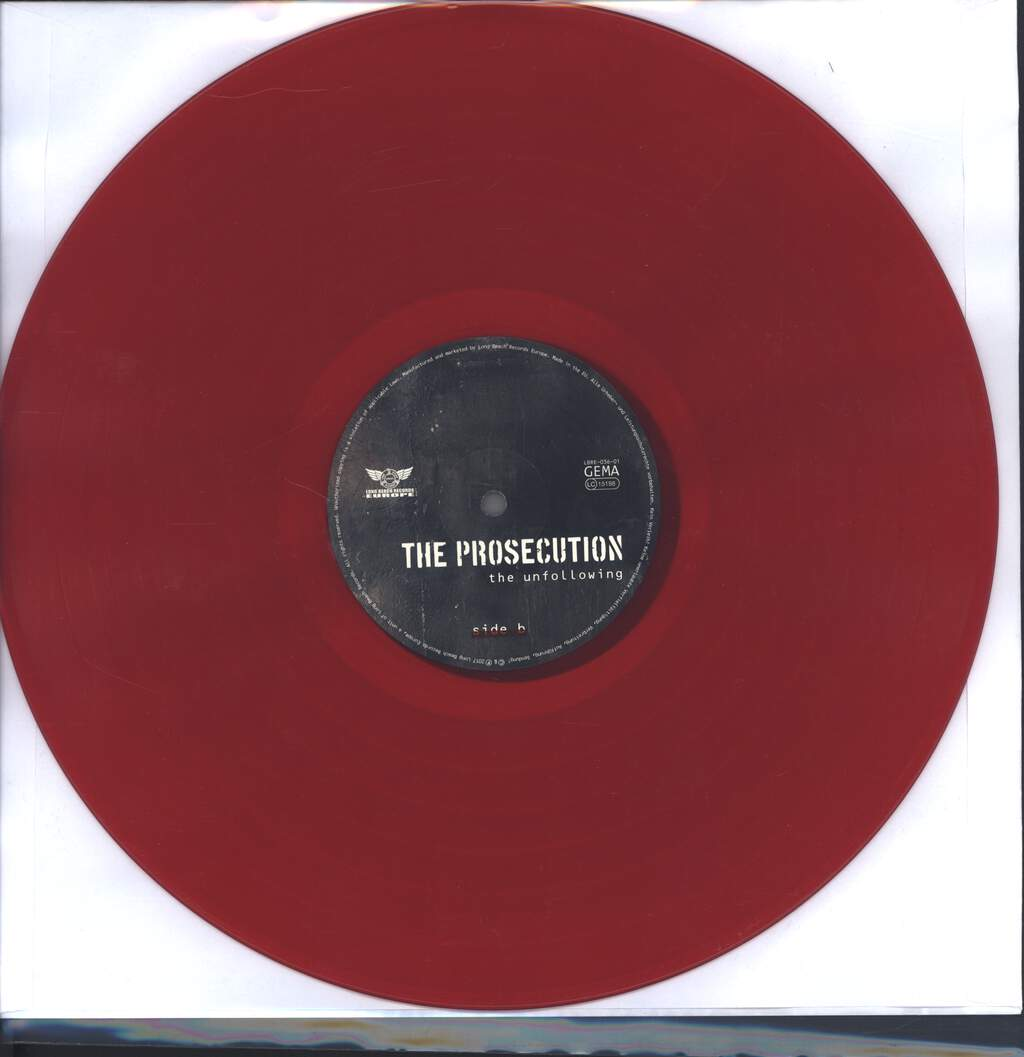 The Prosecution: The Unfollowing, LP (Vinyl)