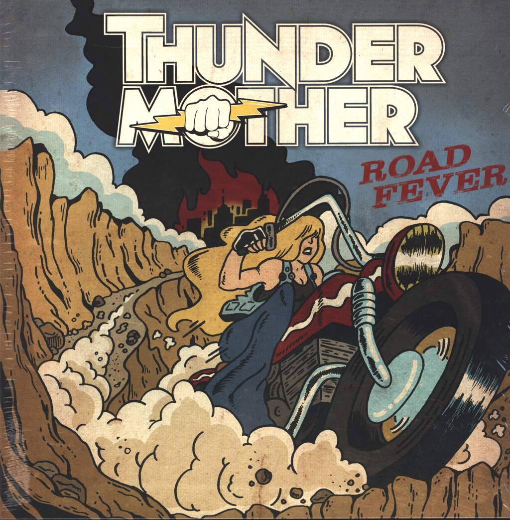 Thundermother: Road Fever, LP (Vinyl)