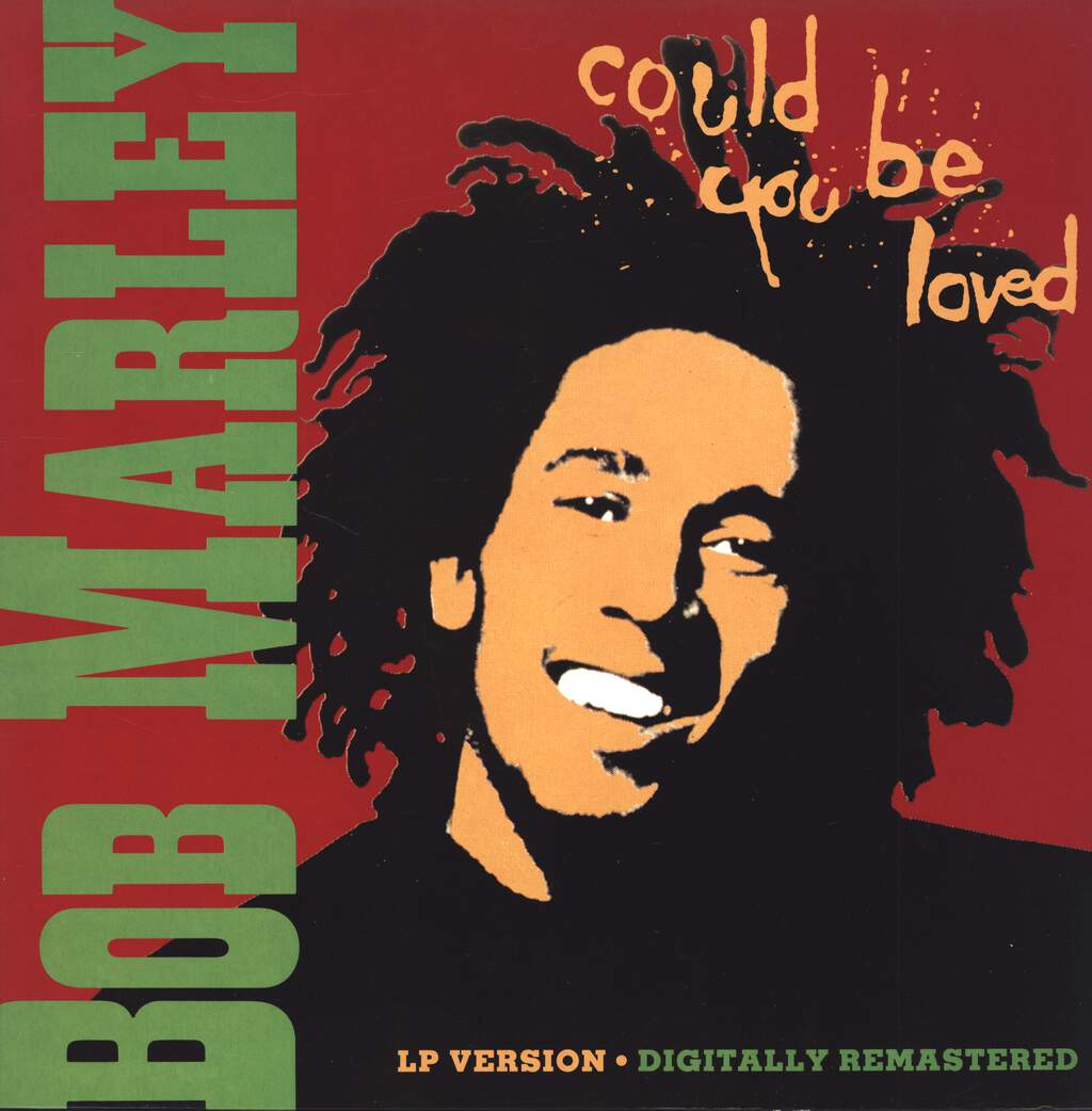 "Bob Marley & The Wailers: Could You Be Loved, 12"" Maxi Single (Vinyl)"