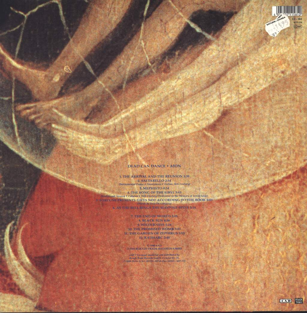 Dead Can Dance: Aion, LP (Vinyl)