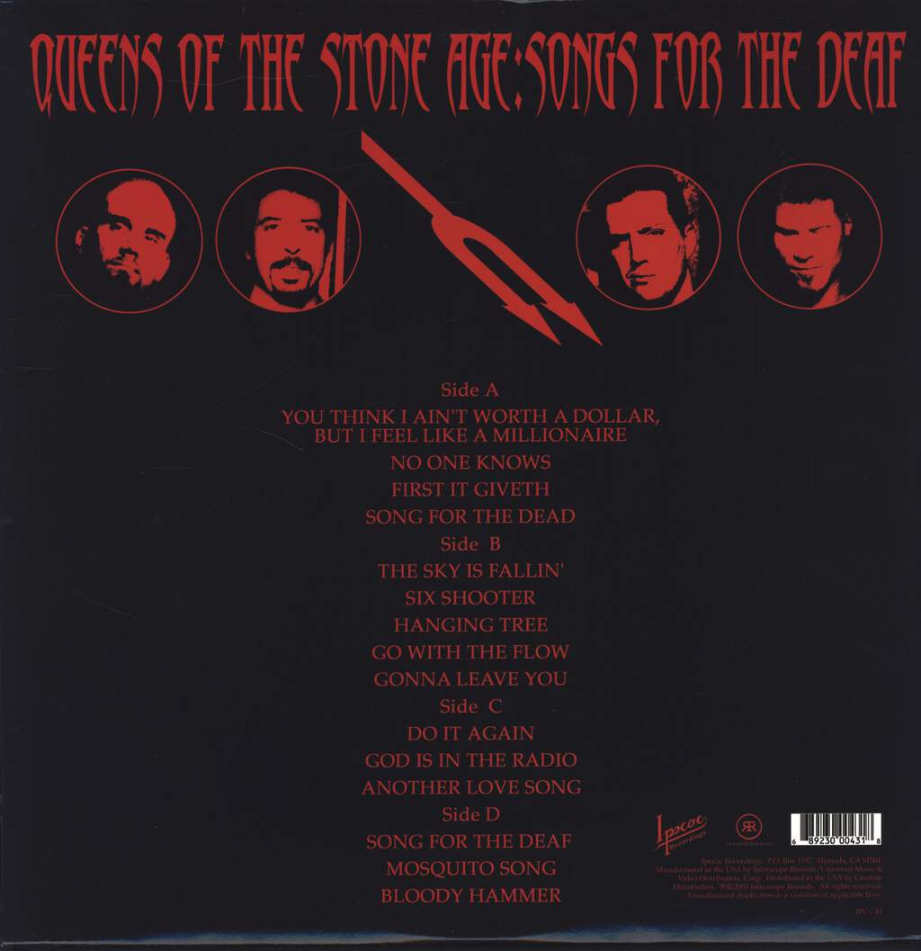 Queens Of the Stone Age: Songs For The Deaf, LP (Vinyl)