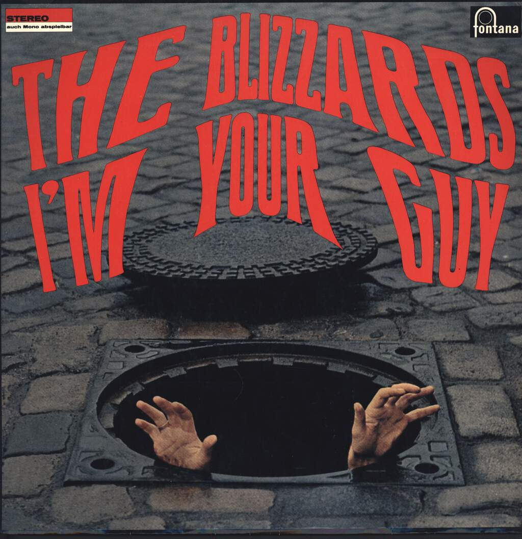 The Blizzards: I'm Your Guy, LP (Vinyl)