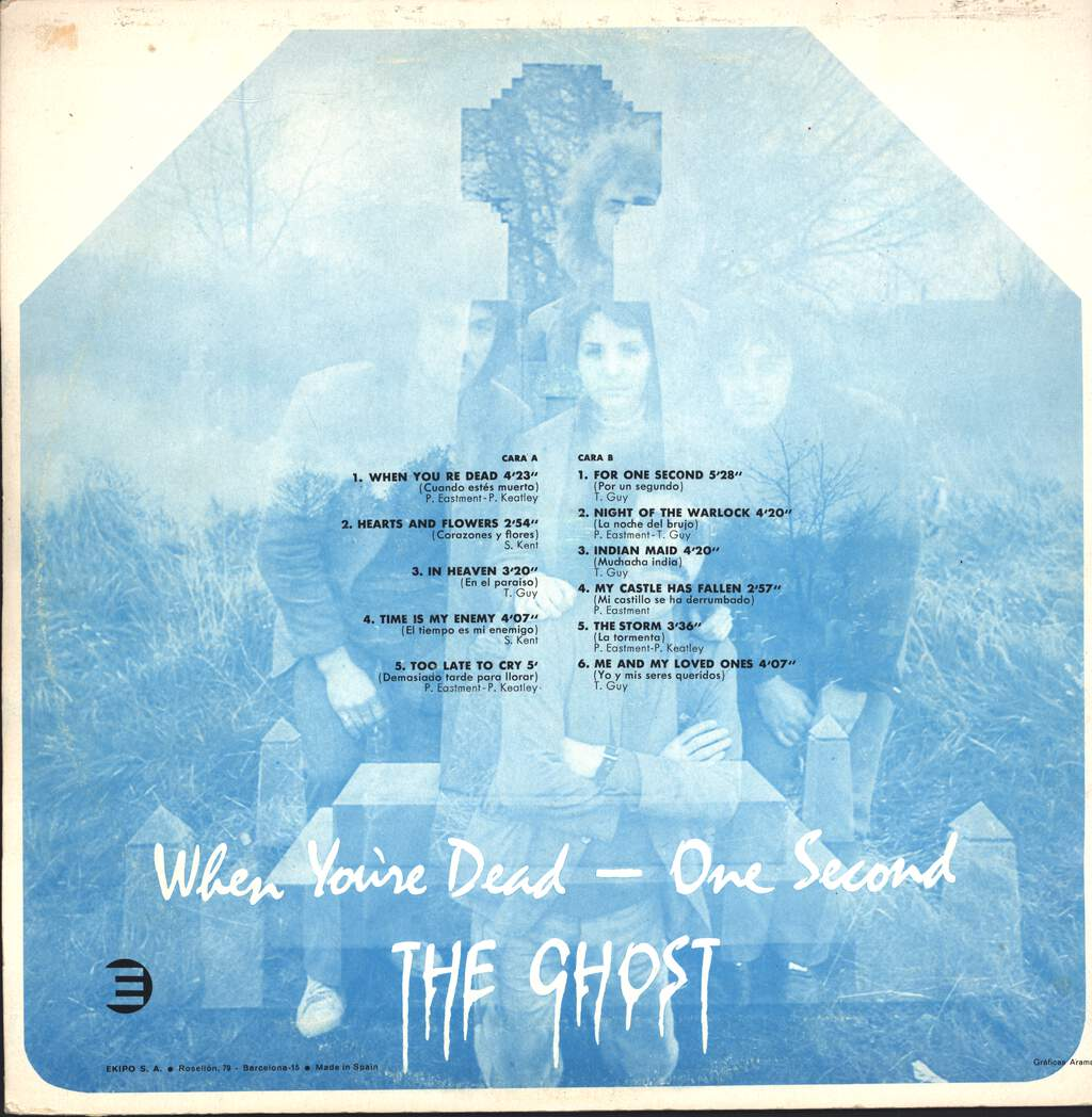 The Ghost: When You're Dead - One Second, LP (Vinyl)