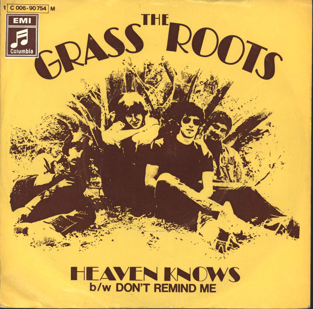 "The Grass Roots: Heaven Knows / Don't Remind Me, 7"" Single (Vinyl)"
