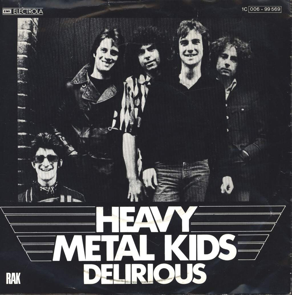 "Heavy Metal Kids: Delirious, 7"" Single (Vinyl)"