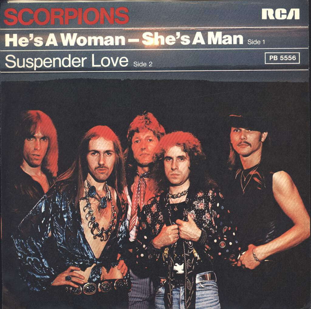 "Scorpions: He's A Woman  - She's A Man, 7"" Single (Vinyl)"