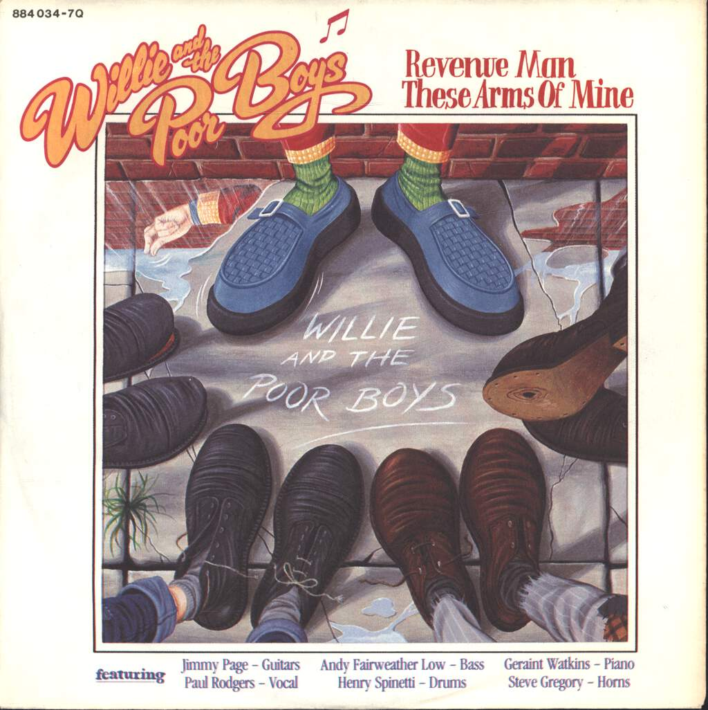 "Willie And The Poor Boys: Revenue Man / These Arms Of Mine, 7"" Single (Vinyl)"