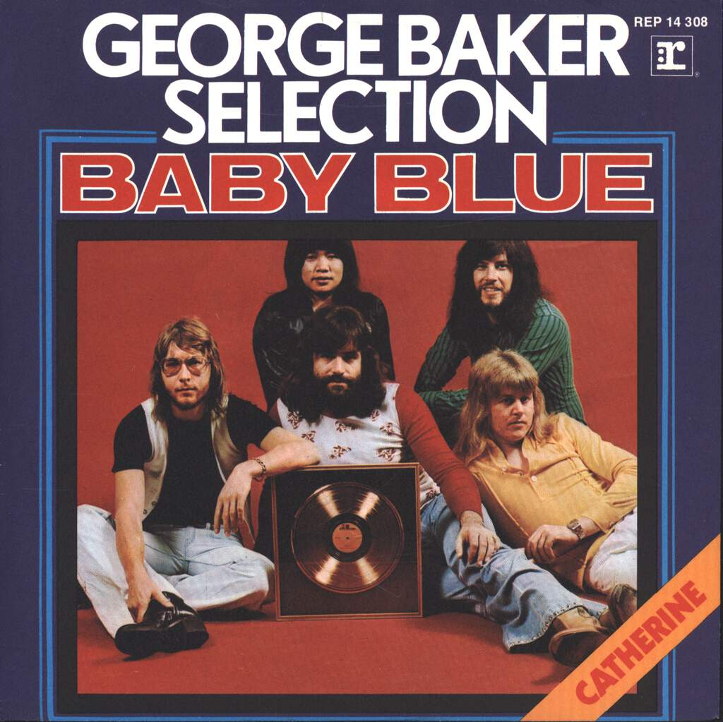 "George Baker Selection: Baby Blue, 7"" Single (Vinyl)"