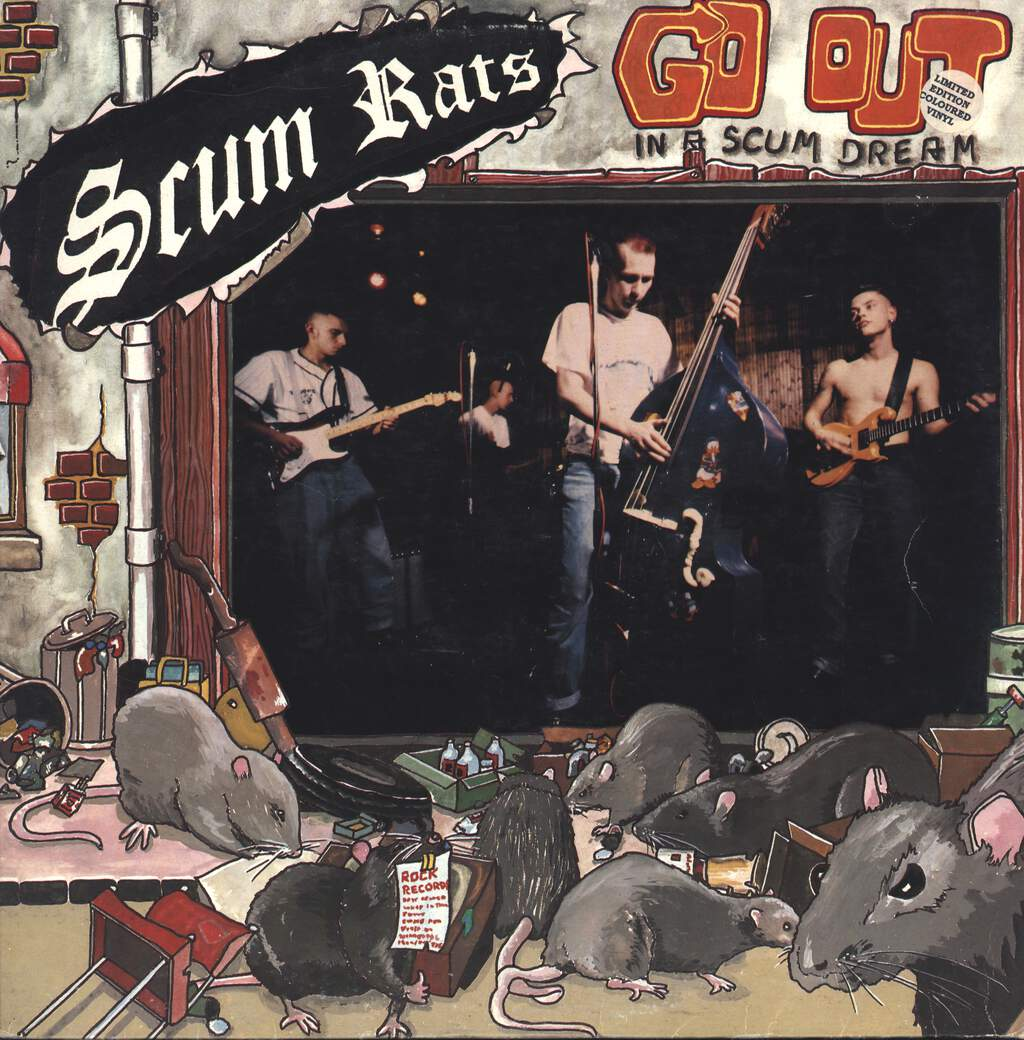 Scum Rats: Go Out In A Scum Dream, LP (Vinyl)
