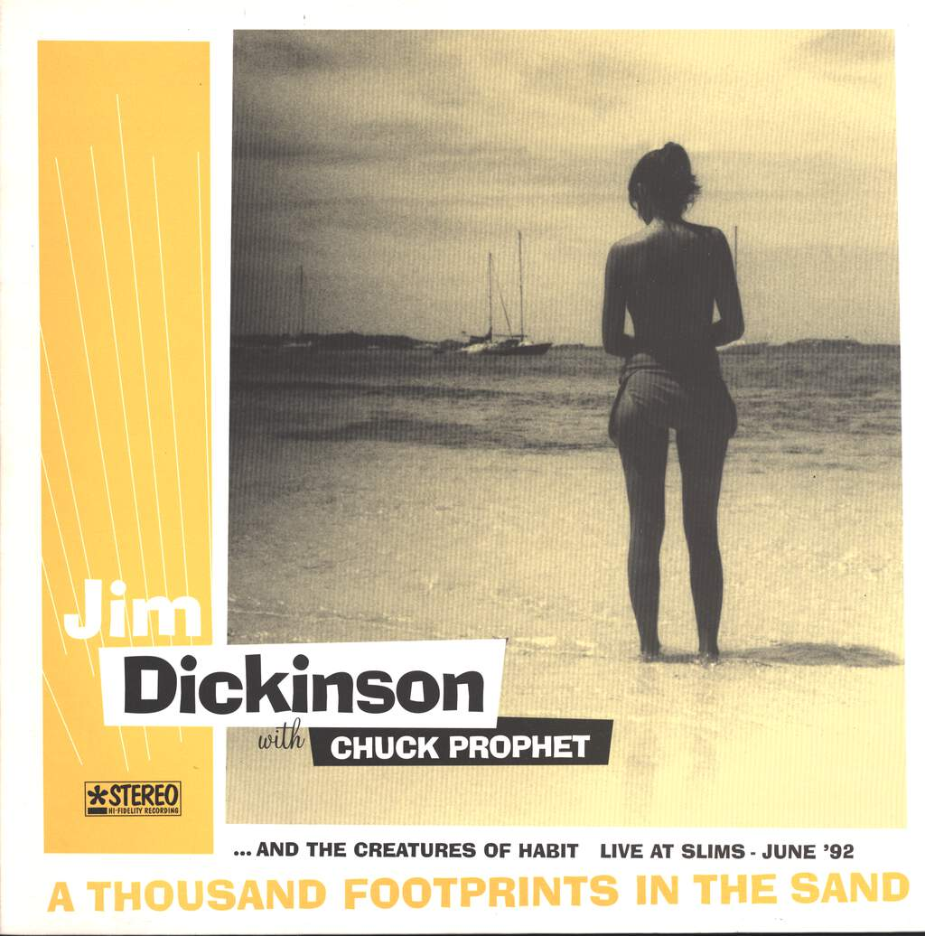 Jim Dickinson: A Thousand Footprints In The Sand - Live At Slims - June '92, LP (Vinyl)