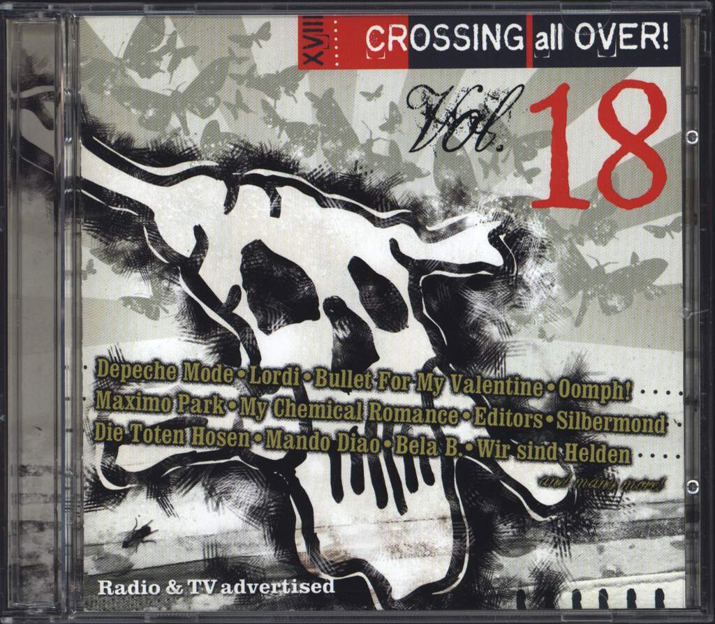 Various: Crossing All Over! Volume 18, CD