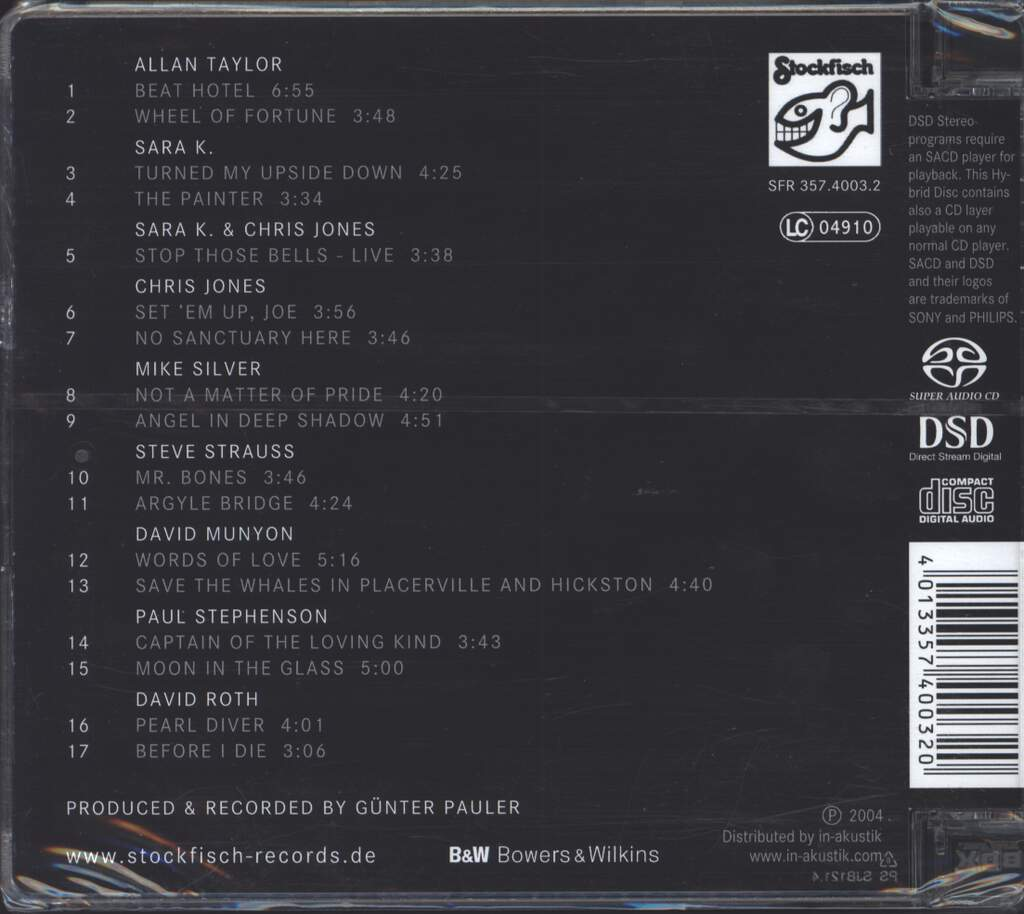 Various: Closer To The Music, CD