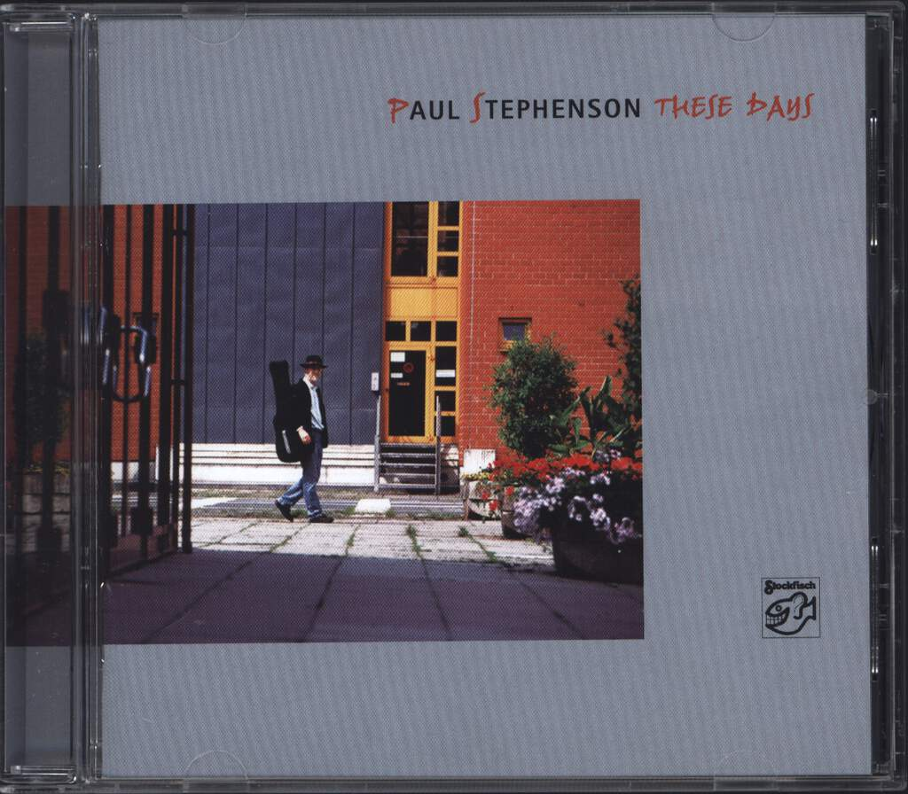 Paul Stephenson: These Days, CD