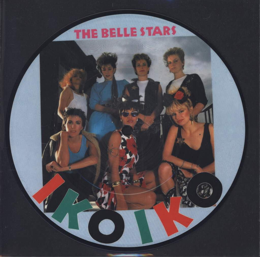 "The Belle Stars: Iko Iko, 7"" Single (Vinyl)"