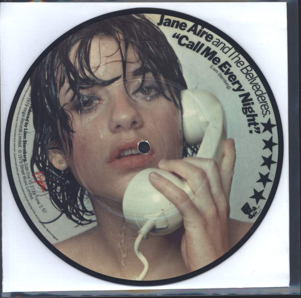 "Jane Aire And The Belvederes: Call Me Every Night, 7"" Single (Vinyl)"