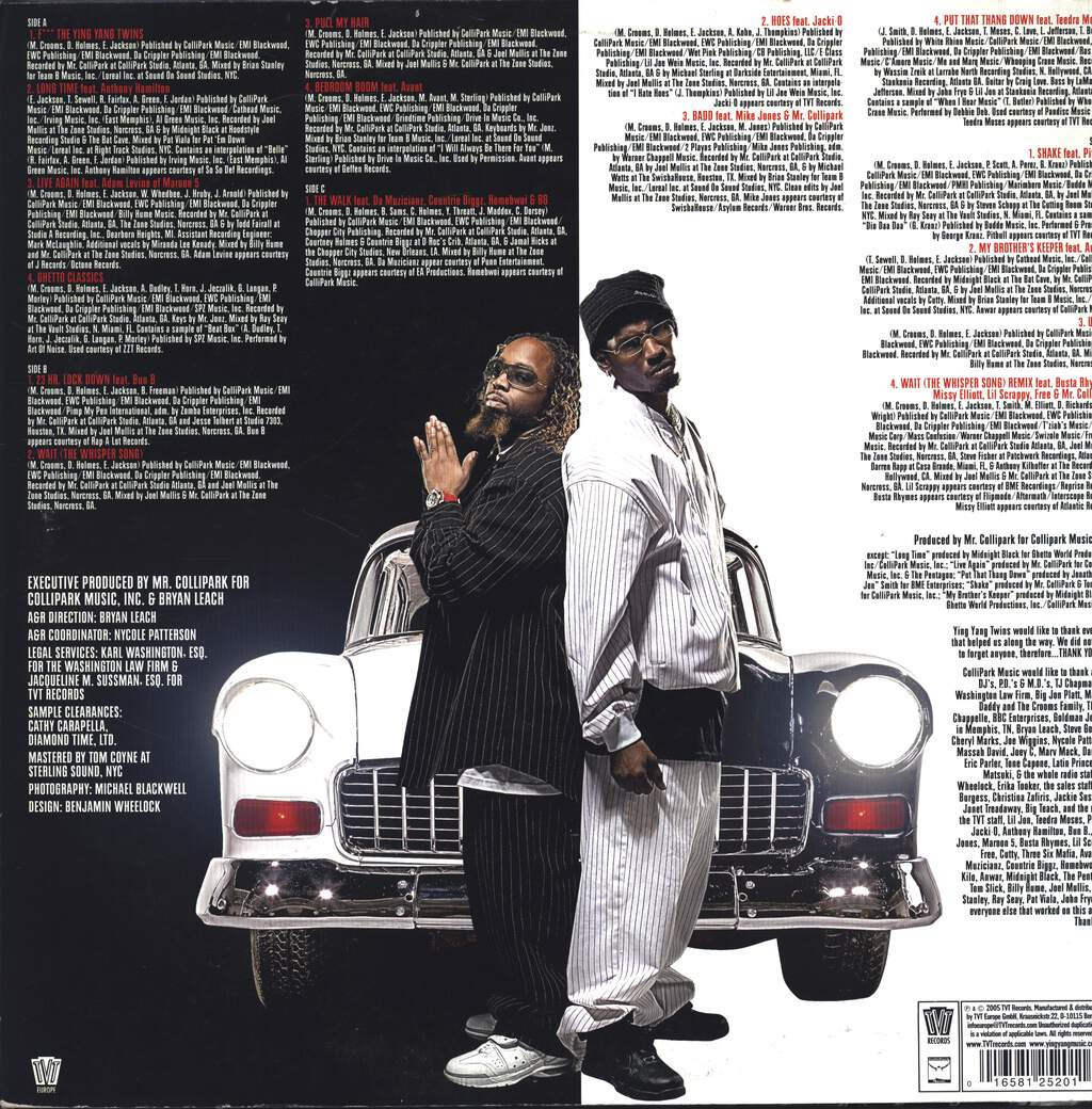 Ying Yang Twins: U.S.A. United State Of Atlanta, 2×LP (Vinyl)