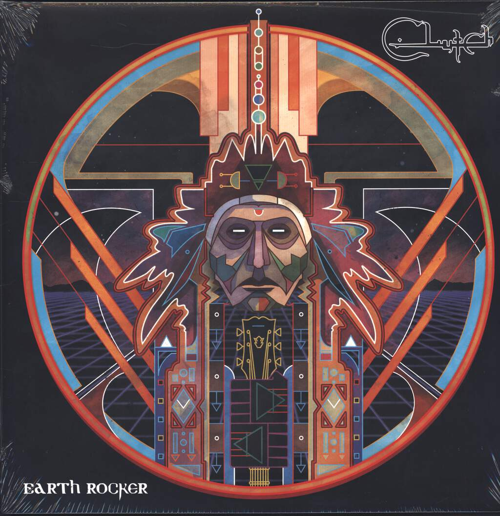 Clutch: Earth Rocker, LP (Vinyl)