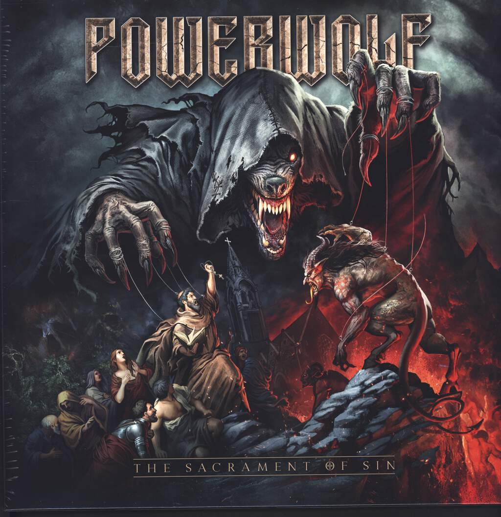 Powerwolf: The Sacrament Of Sin, LP (Vinyl)