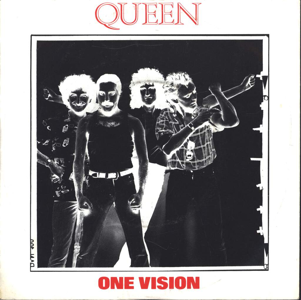 "Queen: One Vision, 7"" Single (Vinyl)"