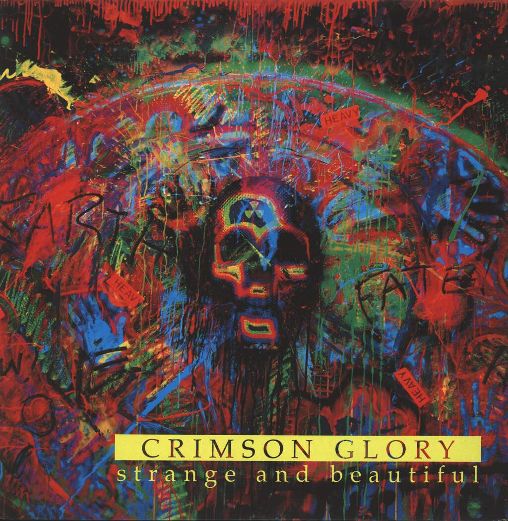 Crimson Glory: Strange And Beautiful, LP (Vinyl)