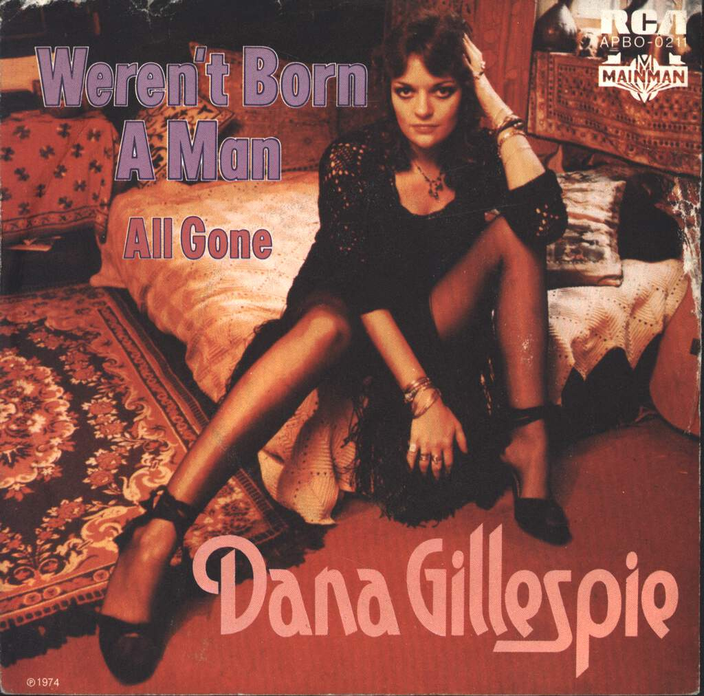 "Dana Gillespie: Weren't Born A Man, 7"" Single (Vinyl)"