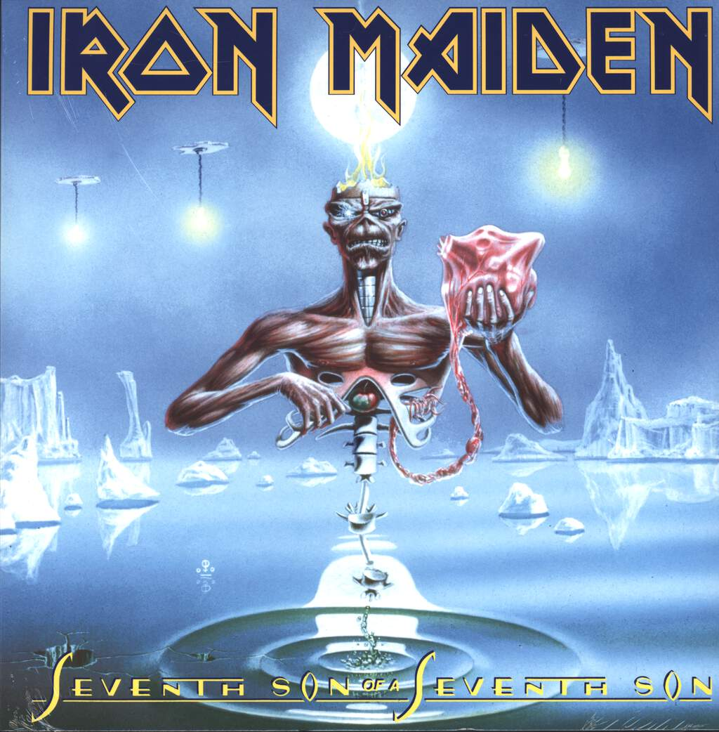 Iron Maiden: Seventh Son Of A Seventh Son, LP (Vinyl)