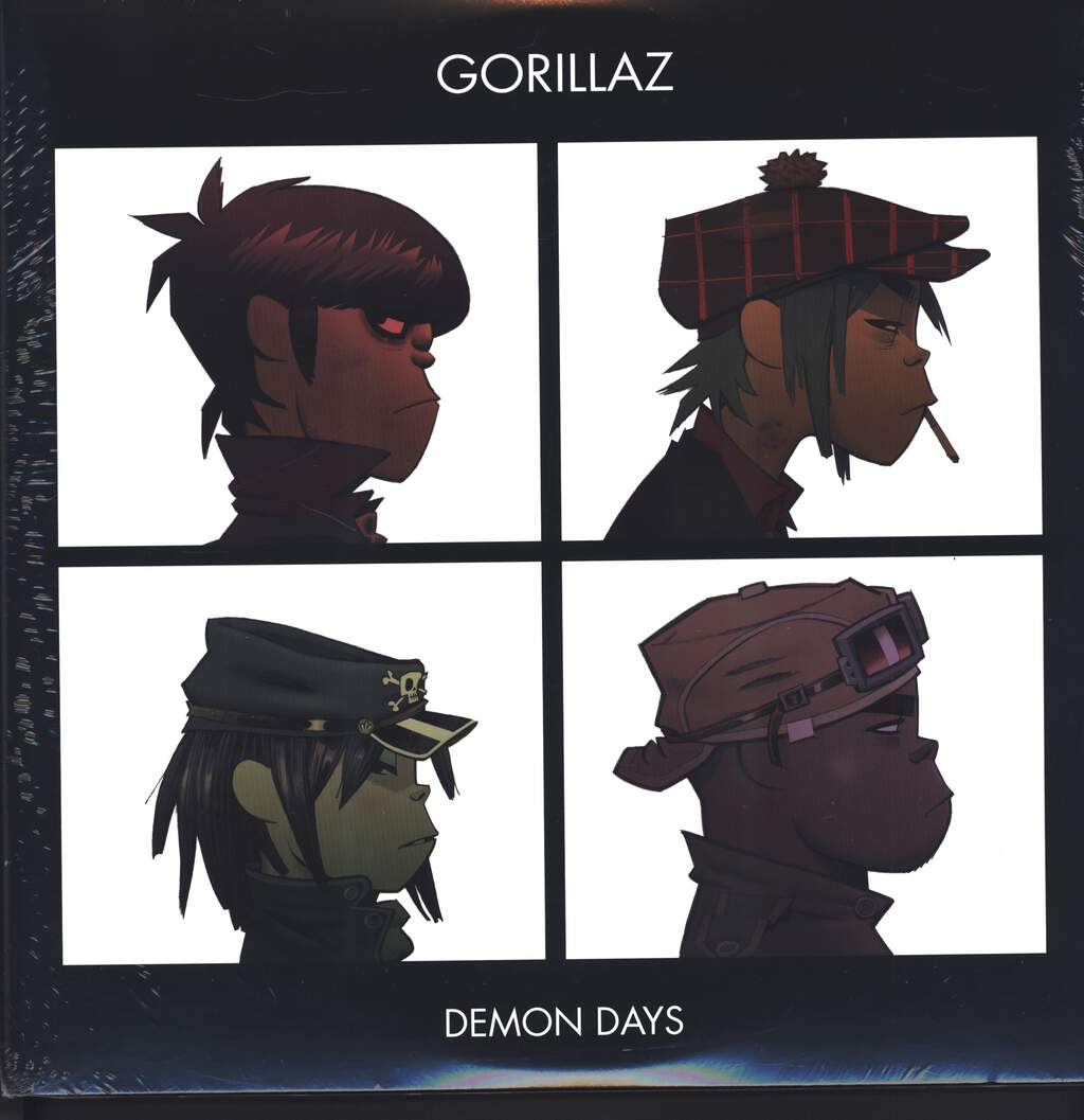 Gorillaz: Demon Days, LP (Vinyl)