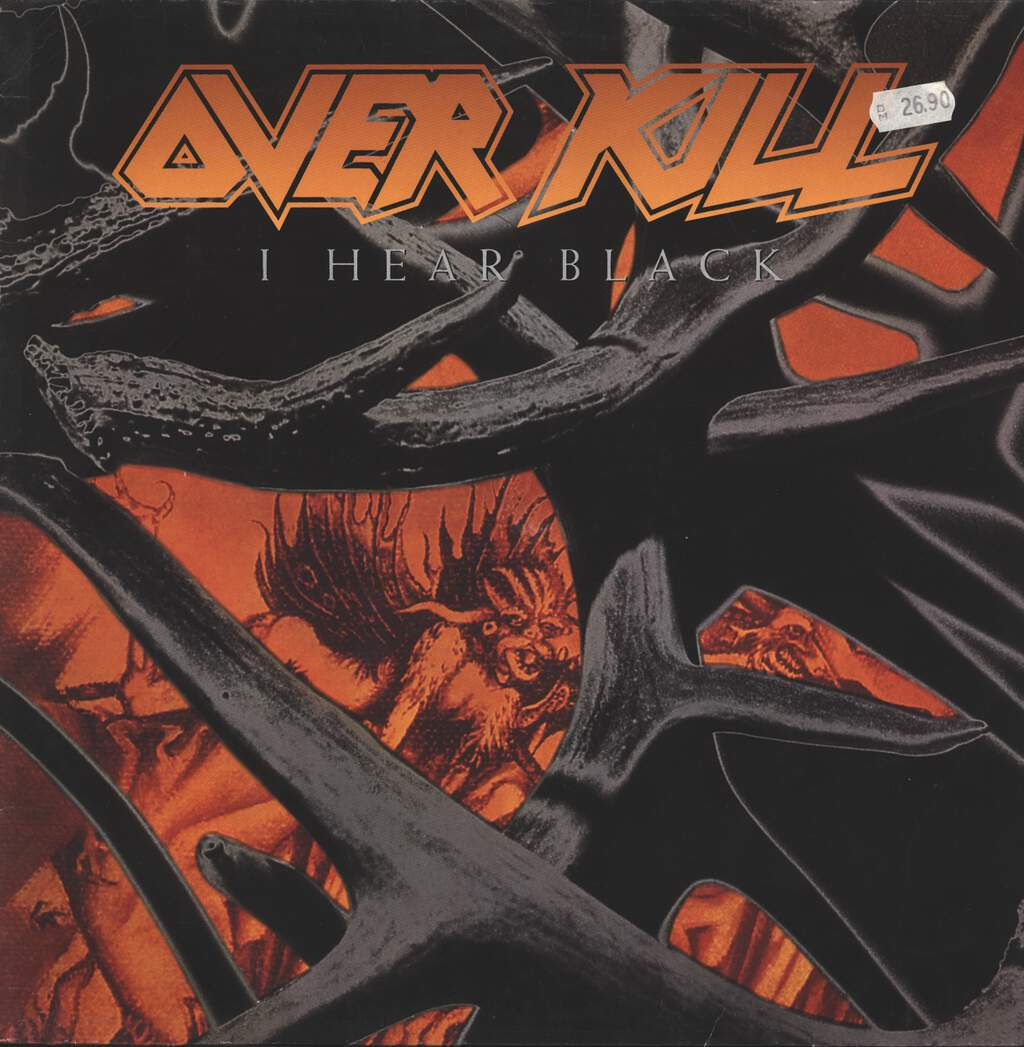 Overkill: I Hear Black, LP (Vinyl)