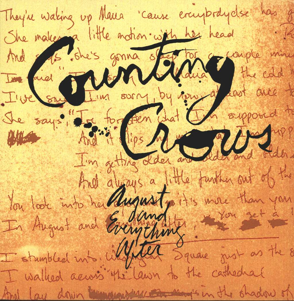 Counting Crows: August And Everything After, LP (Vinyl)