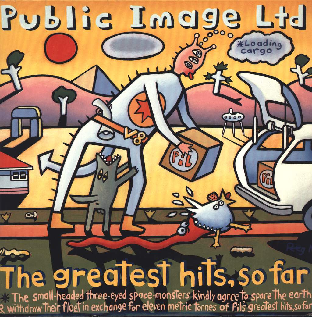 Public Image Limited: The Greatest Hits, So Far, LP (Vinyl)
