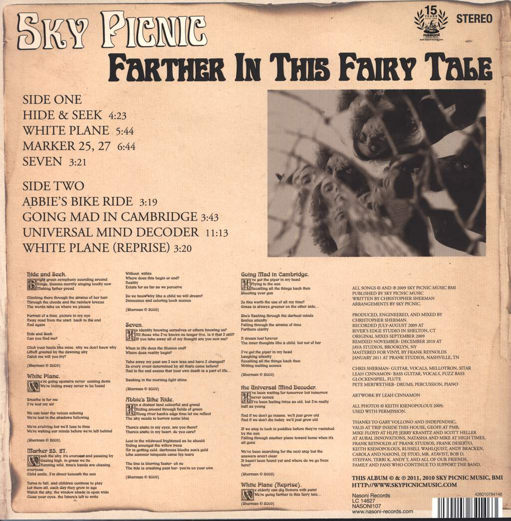 Sky Picnic: Farther In This Fairy Tale, LP (Vinyl)