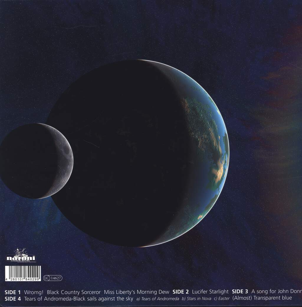 Earthling Society: Tears Of Andromeda - Black Sails Against The Sky, LP (Vinyl)