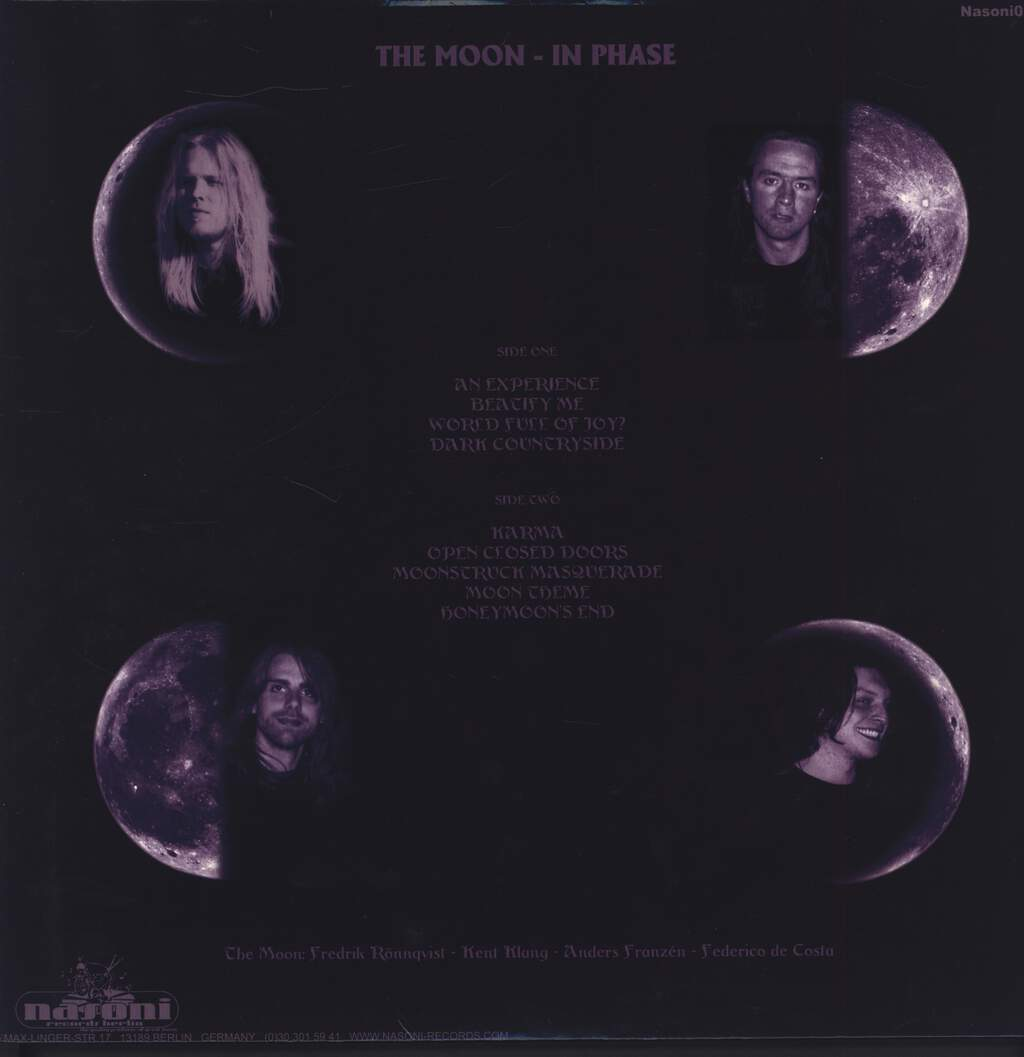 The Moon: In Phase, LP (Vinyl)