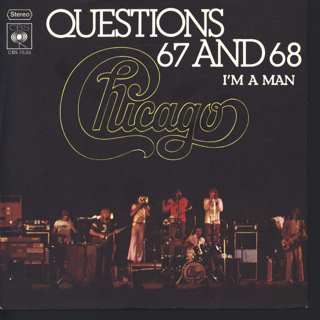 "Chicago: Questions 67 And 68, 7"" Single (Vinyl)"