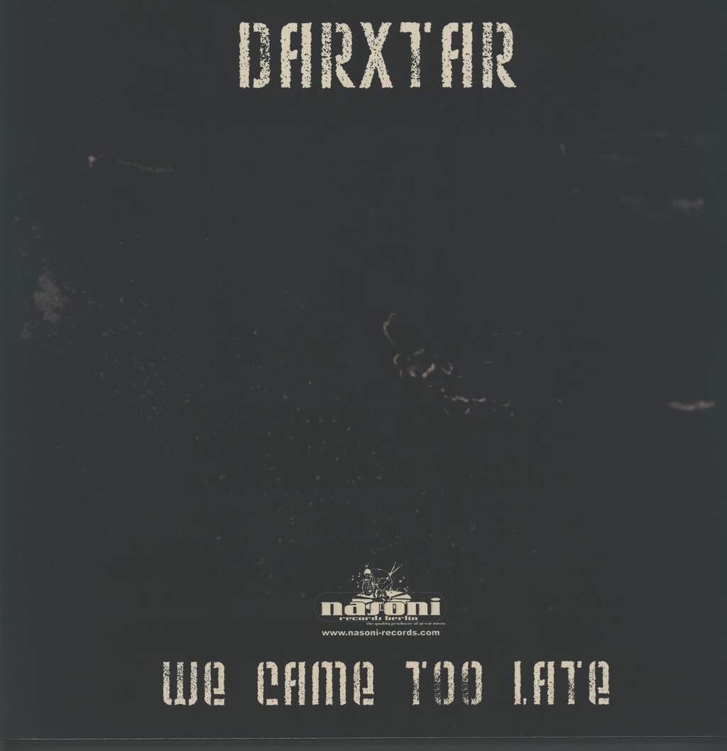 Darxtar: We Came Too Late, LP (Vinyl)