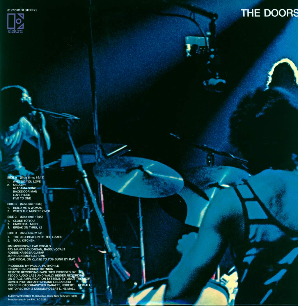 The Doors: Absolutely Live, LP (Vinyl)