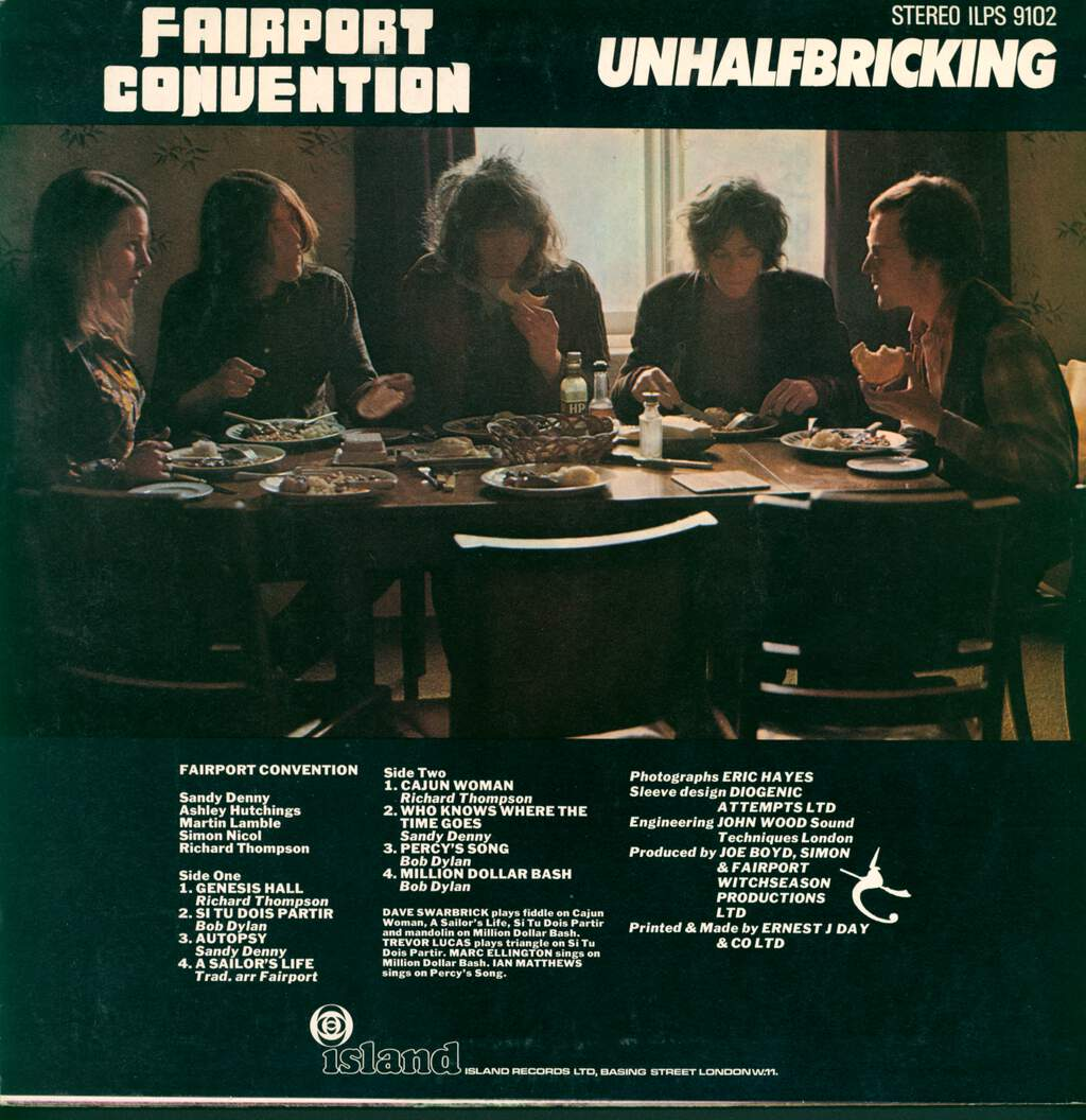 Fairport Convention: Unhalfbricking, LP (Vinyl)