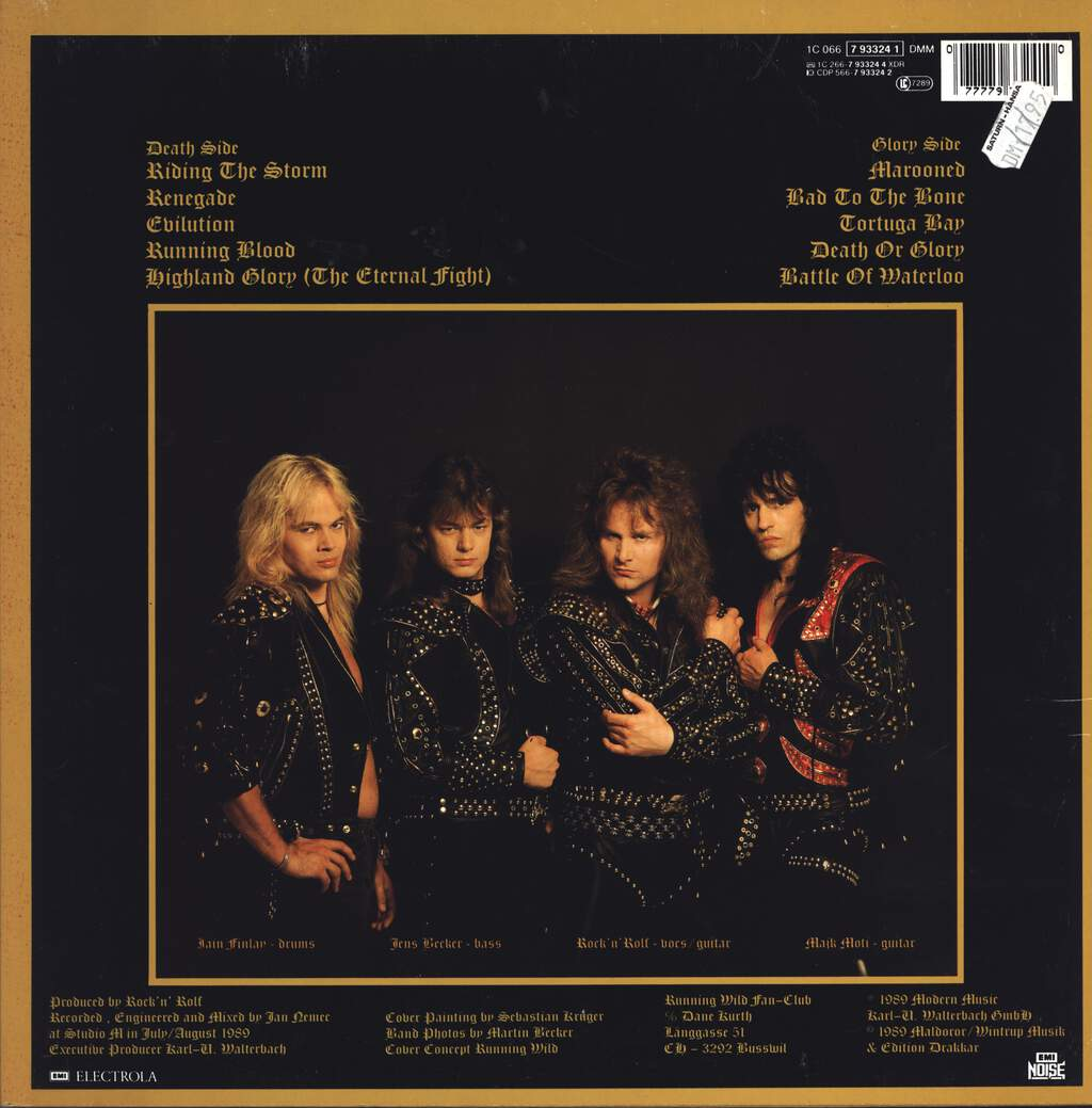 Running Wild: Death Or Glory, LP (Vinyl)