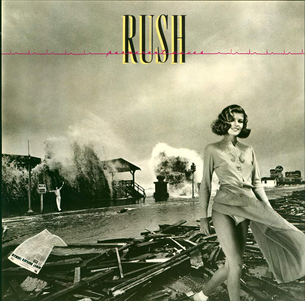 Rush: Permanent Waves, LP (Vinyl)