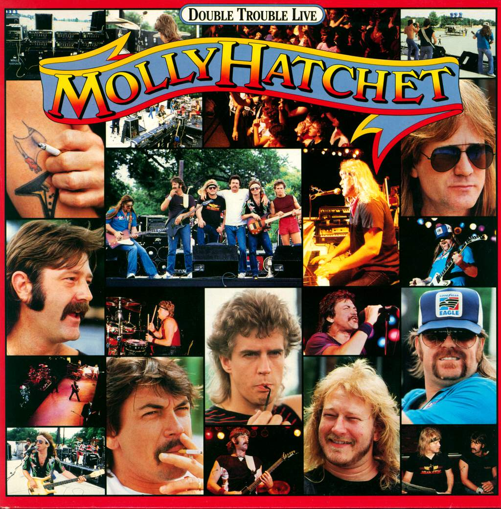 Molly Hatchet: Double Trouble Live, LP (Vinyl)